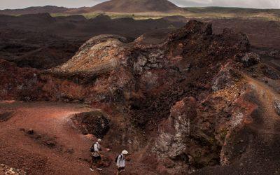 Sierra Negra Volcano  & Volcan Chico